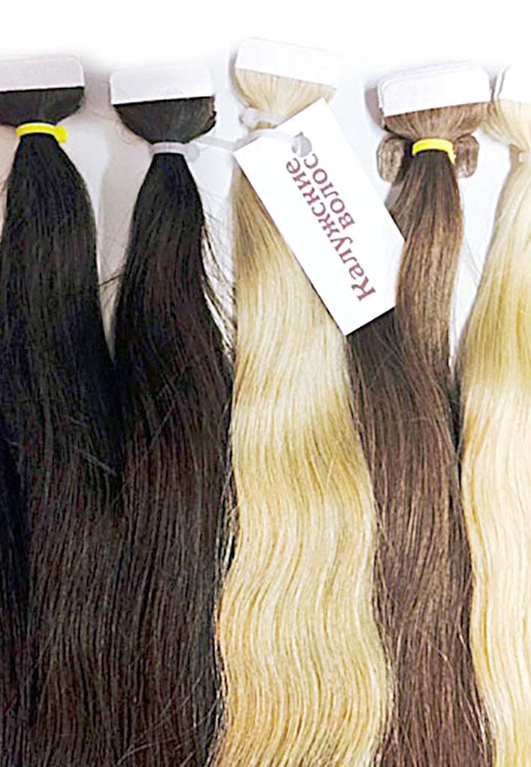 Волосы на лентах марки «Калужские волосы»