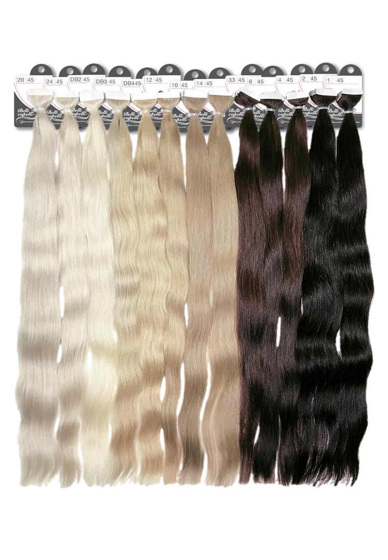 Ленты «ЕВРОПА» из славянских волос 4 см