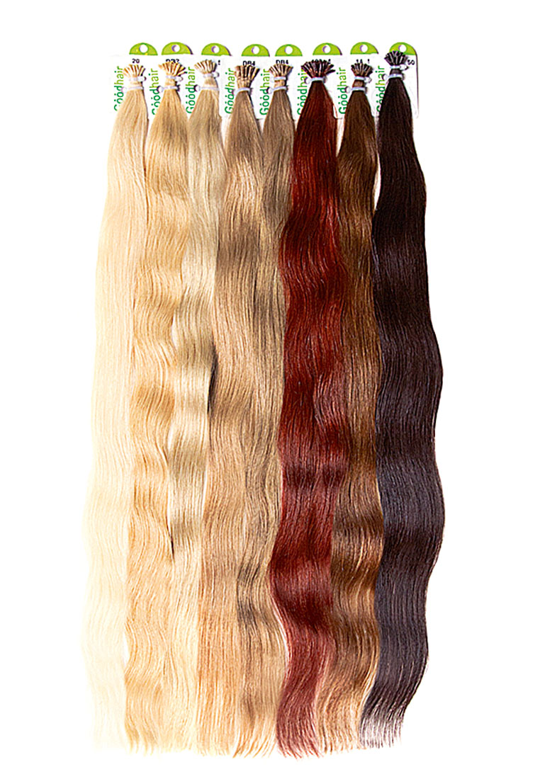 Славянские волосы с микрокератиновой капсулой