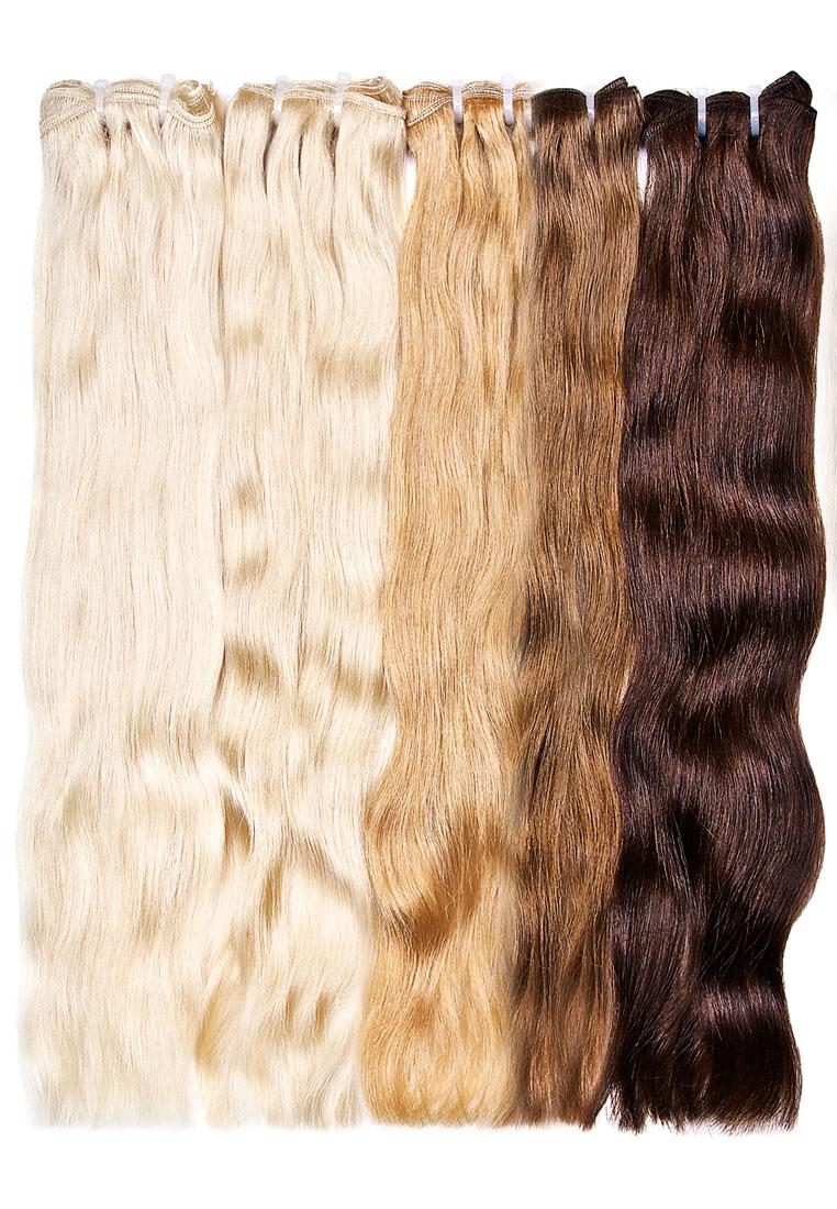 Волосы на трессе Европейские