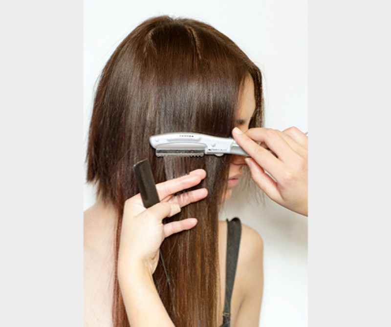 Hair extension technology europahair studio keratin guarantees long period clipping the polymer specially developed for extension pmusecretfo Gallery