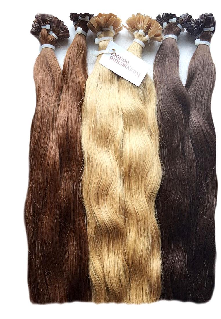 Kaluga hair with keratin capsule