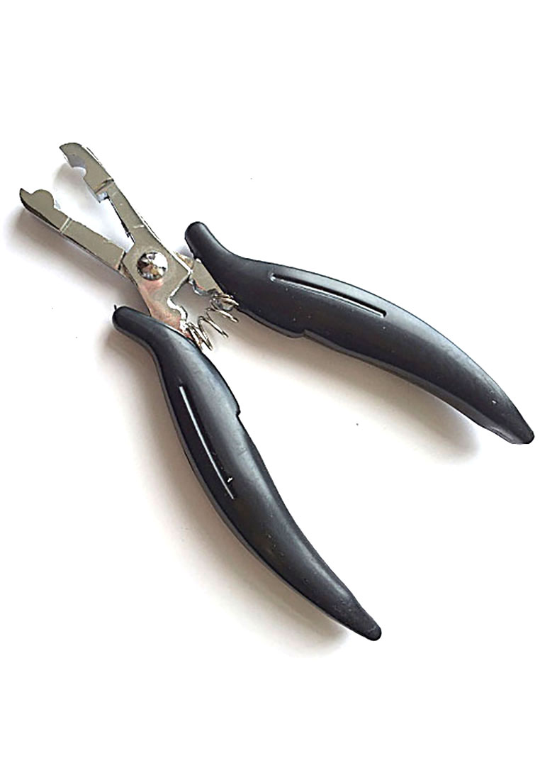 Pliers for round capsules making
